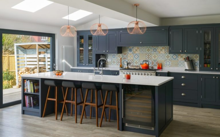 Custom Grey Kitchen