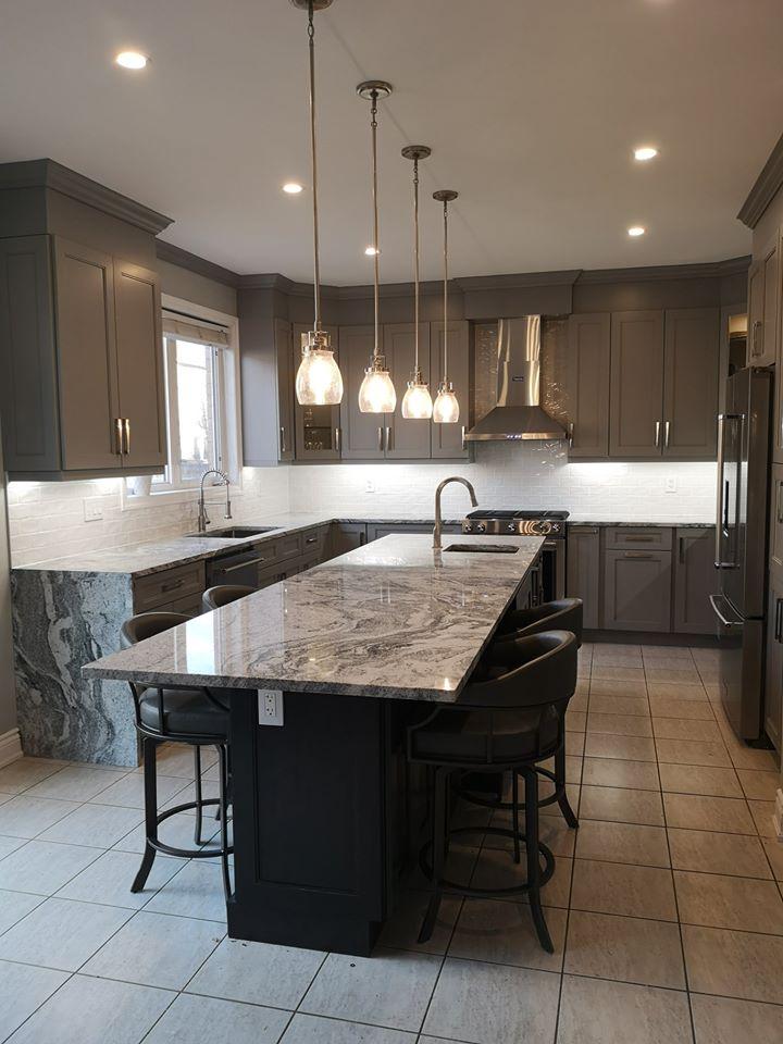 luxury kitchen complete