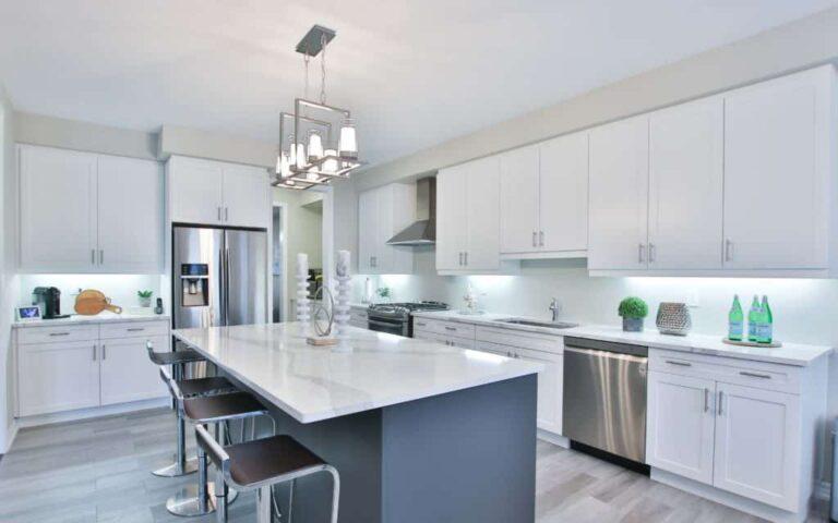 Shaker cabinet kitchen remodel