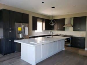 Ancaster Kitchen Remodel- Charcol Grey