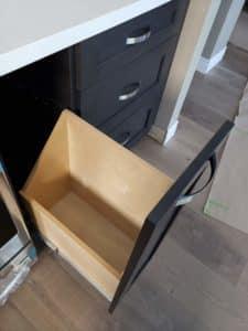 Ancaster Kitchen Remodel- Pot lid drawer