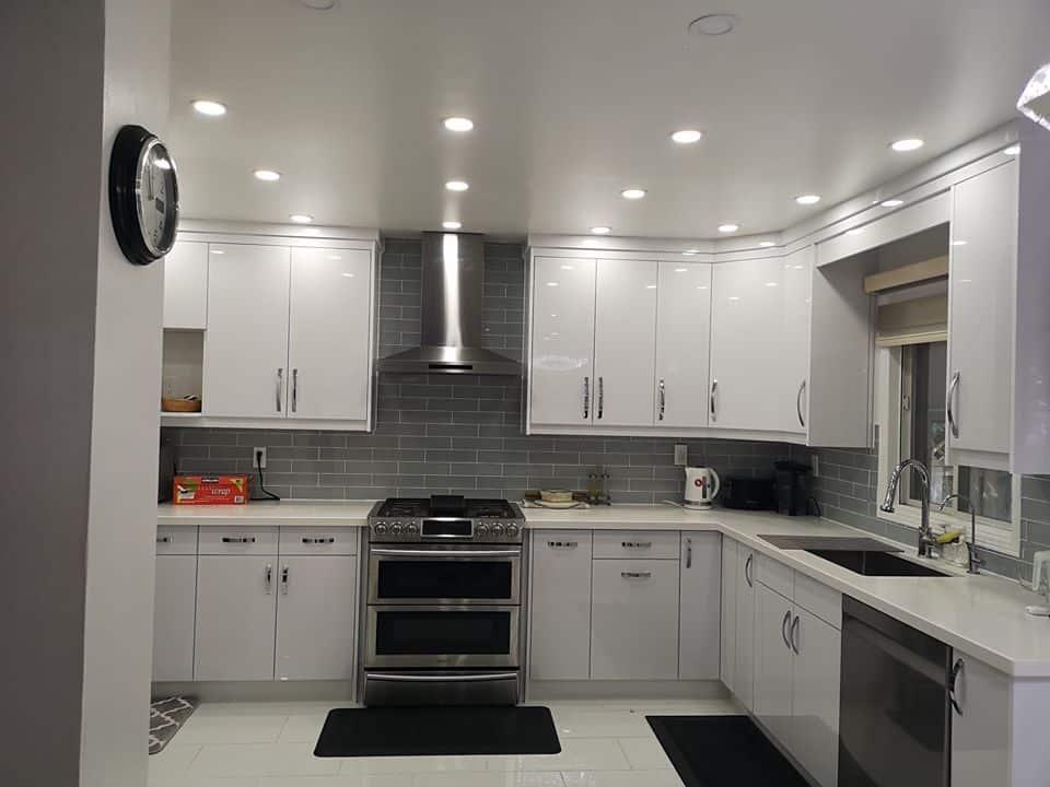 Brampton high gloss kitchen