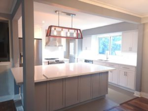 Two Tone Burlington Kitchen Remodel