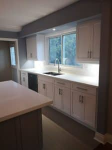 Two Tone Burlington Kitchen Remodel- Sink Focus