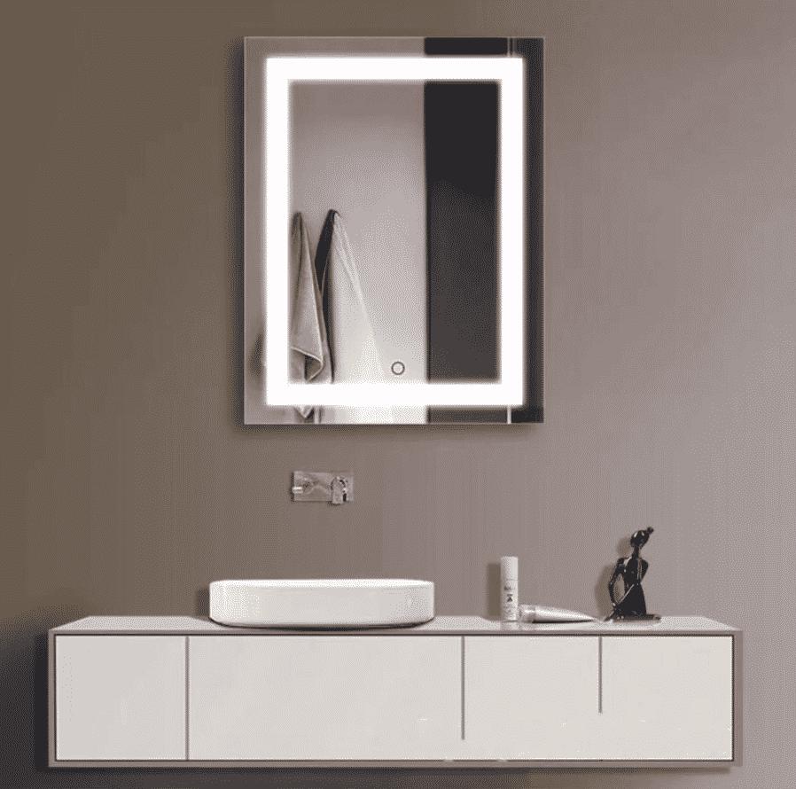 Retangular LED Mirror (Various Sizes) Image