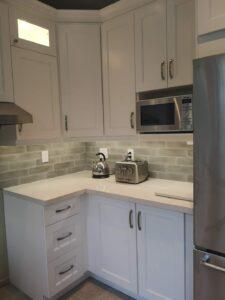 Burlington kitchen remodel microwave