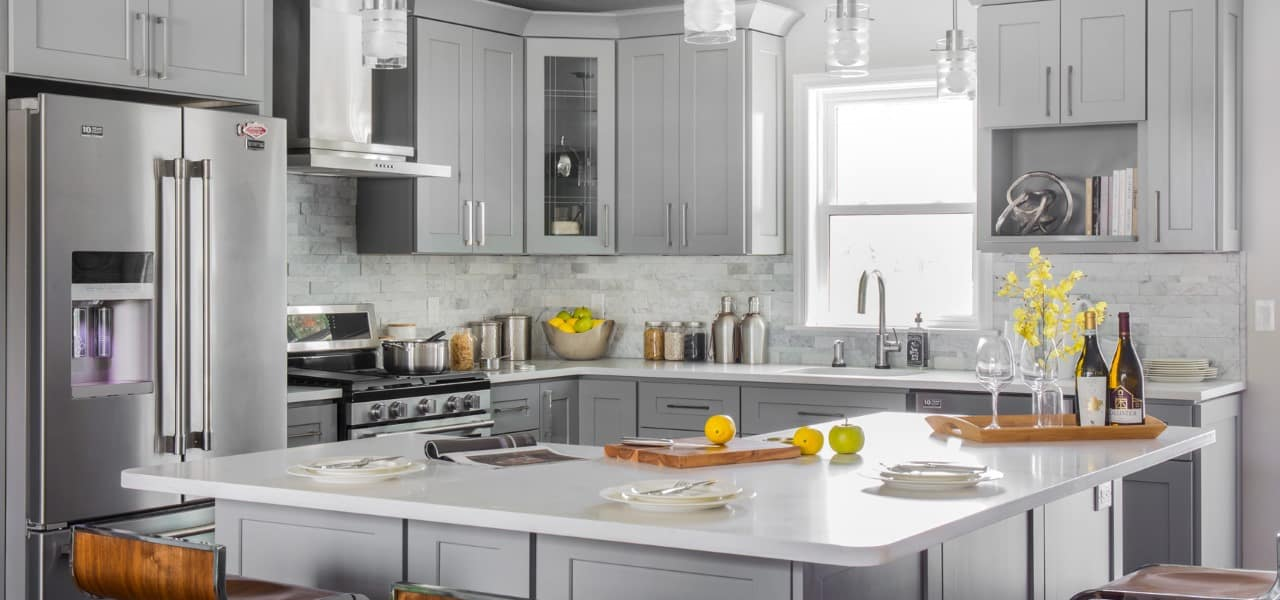 Pure Grey Style Kitchen