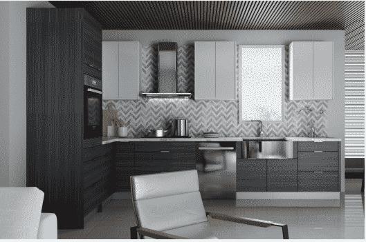 Modern slab Cabinetry