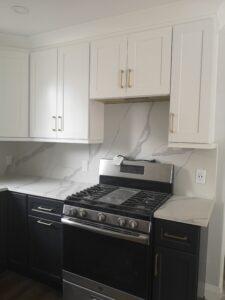 Hamilton Contrast Kitchen Remodel - Stove
