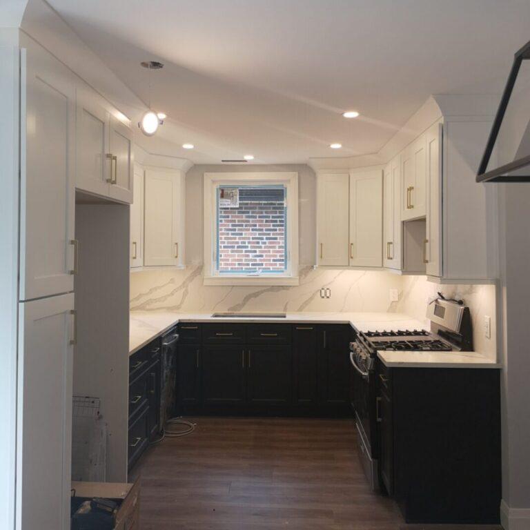 Hamilton Contrast Kitchen Remodel