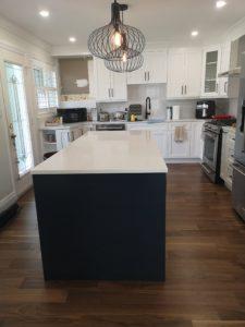Burlington Orchard Park Home Renovation New kitchen almost complete